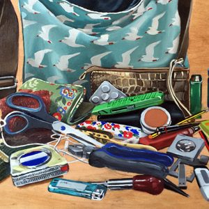 teresa witz handbag paintings