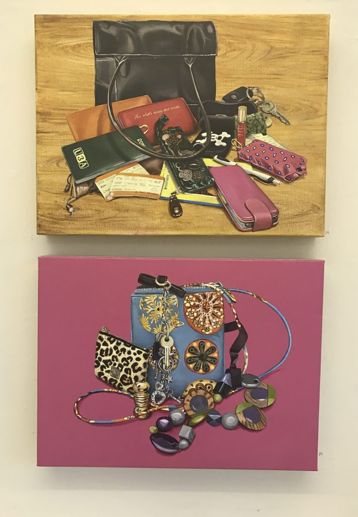 Artwork by Teresa Witz displayed at The Apartment 9
