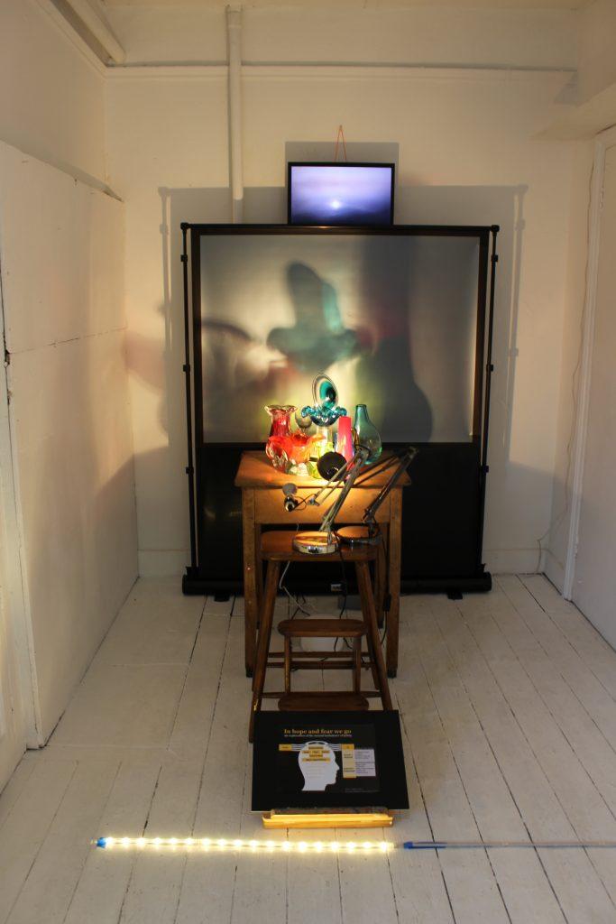 Artwork by Graeme Balfour displayed at The Apartment 9
