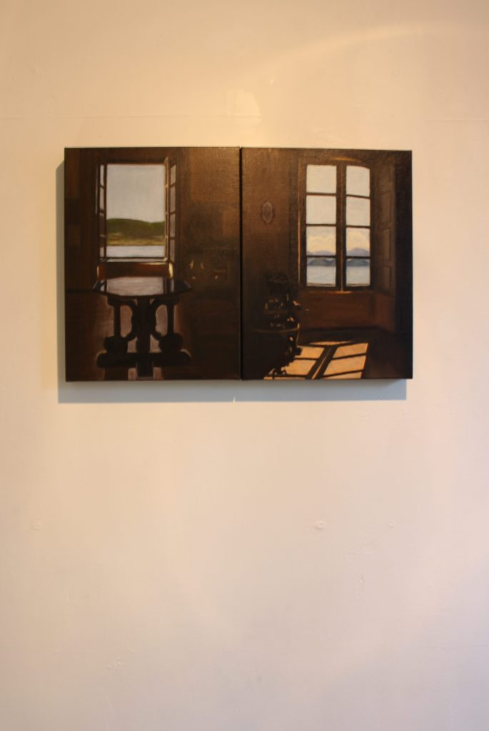 Artwork by Lynn Carter displayed at The Apartment 9