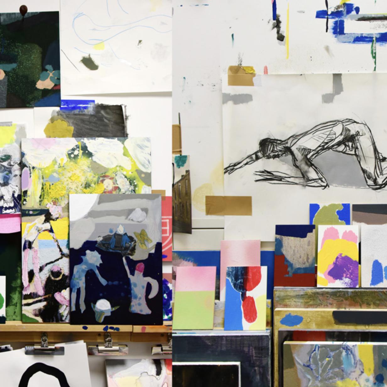 Russell John's studio